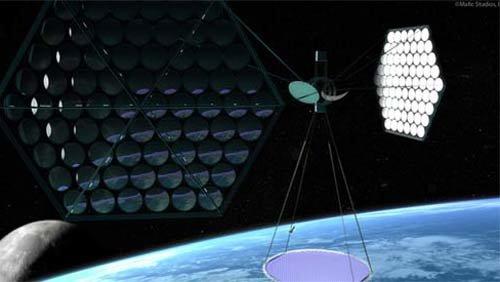 17 В Калифорнии научились получать электроэнергию из космоса