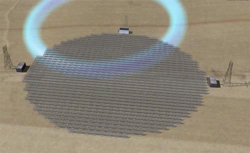 21 В Калифорнии научились получать электроэнергию из космоса