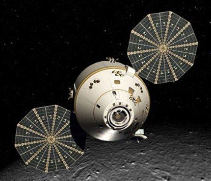 11 NASA сконцентрировалось на разработке четырехместного космического корабля