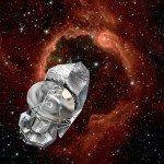 Путешествие Herschel, как это видит художник (ESA – D. Ducros, 2009)
