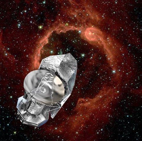 41 Телескоп Herschel отправил первое в истории космическое сообщение по технологии мобильной связи