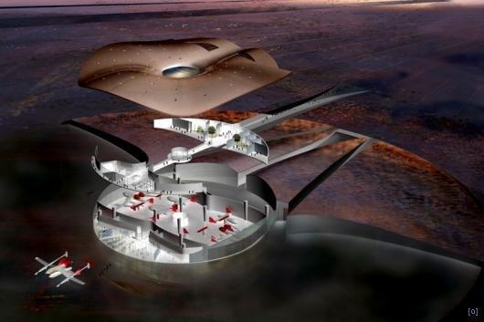 24 Американцы начинают строить первый в мире космопорт