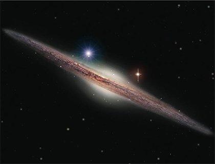 12 Астрономы нашли новый класс «черных дыр»