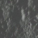 Вид Луны с высоты 70 км в районе Моря Облаков