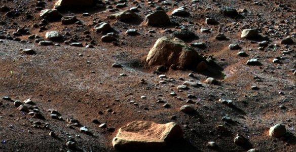 15 Ученые: на Марсе бывают снегопады