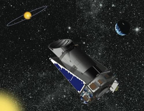 11 «Кеплер» способен обнаруживать спутники у экзопланет