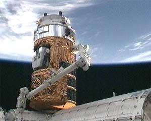 66 Японский космический грузовик пристыковали к МКС
