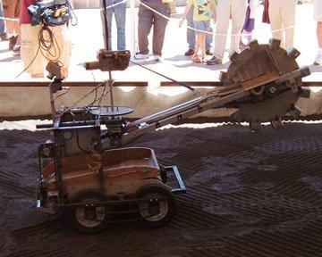 1 NASA ищет новые идеи с помощью конкурса экскаваторов