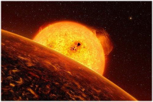 10 COROT-7b: планета с адским климатом