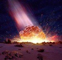 meteorit1 В Латвии упал крупный метеорит