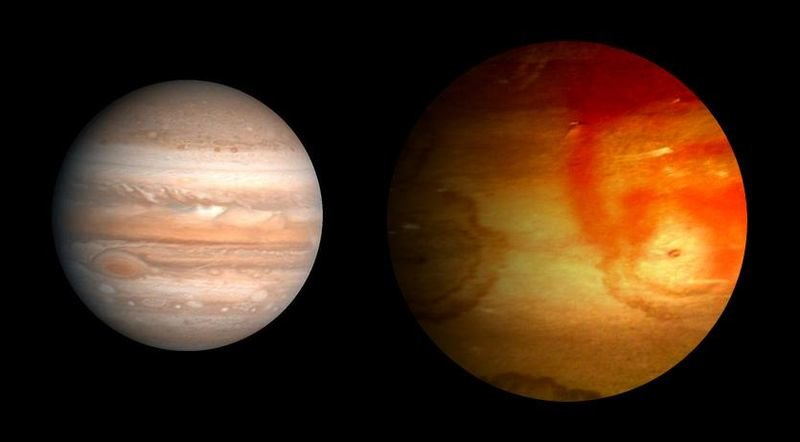 11 Обнаружена необычная планета