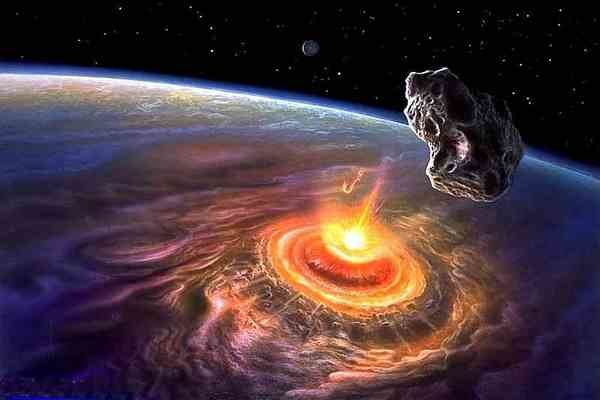 15 На Африку чуть не упал метеорит