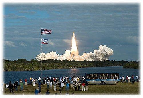 62 Атлантис отправился на МКС