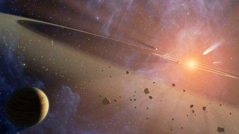 Появилась новая теория о происхождении льда в поясе астероидов