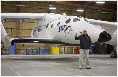 61 В Калифорнии презентовали космический корабль для туристов