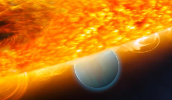 Экзопланета Астрофизики увидели, как звезда поглощает планету из своей системы