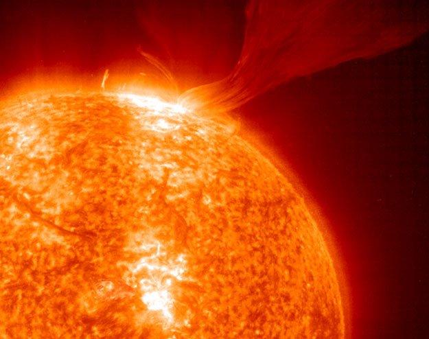 11 Солнце демонстрирует рекордную активность