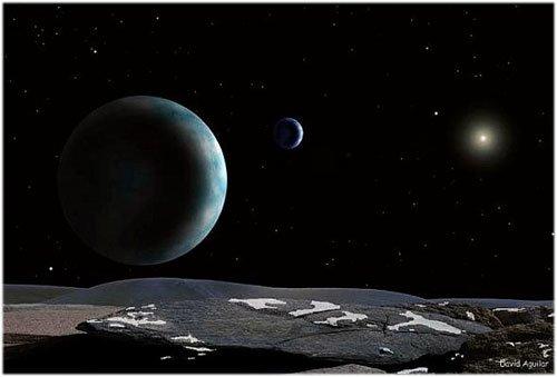 6 Плутон меняет цвет