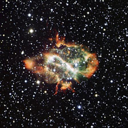 планетарная-туманность-NGS-5189 В космосе обнаружили туманность в виде двойки