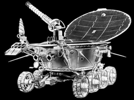 Луноход-1 На Луне нашелся советский Луноход-1