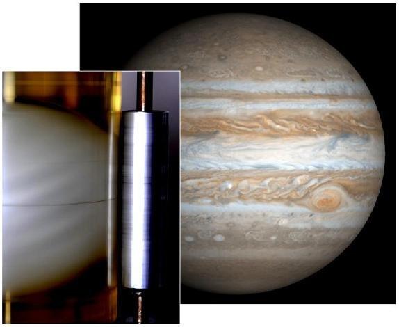 rrt Ученые выяснили причины полосатости Юпитера
