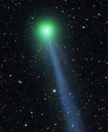 комета С территории России можно будет наблюдать за кометой