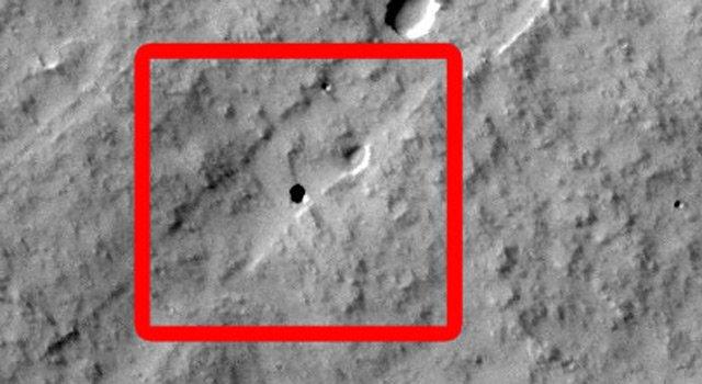 martian Пытливые школьники обнаружили вход в подземную пещеру на Красной планете
