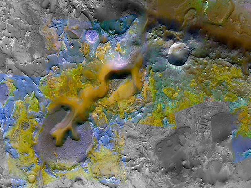081219-mars-carbonate_big Найден участок Марса, который с наибольшей вероятностью был обитаемым