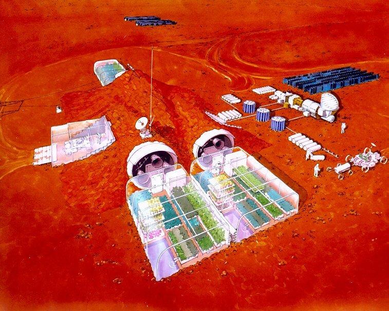 habitat Марс - отличное место для фермерских угодий