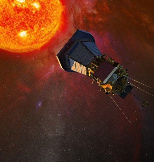 479540main_SPPObservingSun-500x527 Разведывательный зонд НАСА будет направлен прямо на Солнце