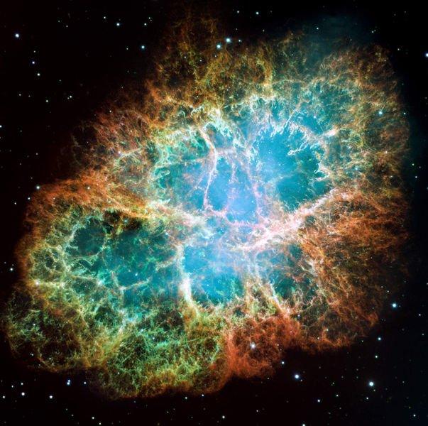 603px-Crab_Nebula Взрыв сверхновой повлиял на образование Солнечной системы?