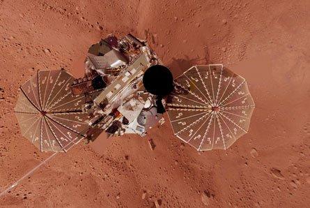 MARS_PHOENIX_LANDER Марс был активен в недалёком прошлом?