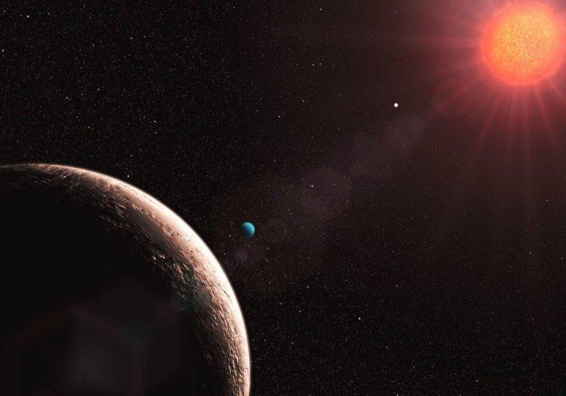 Gliese-581-e-2 Планет земного типа больше, чем предполагалось