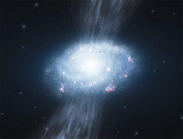 Inflow Найден строительный материал звездообразования в галактиках