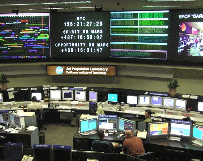 JPLControlRoom Сотрудники НАСА судятся с руководством из-за вторжения в личную жизнь
