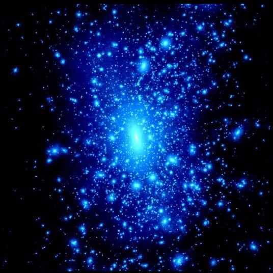 dark-matter Тёмная материя горяча?