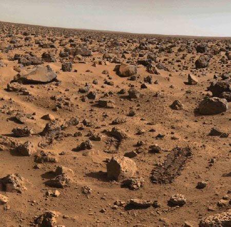 38647 На Марсе обнаружено место, где, вероятно, была жизнь