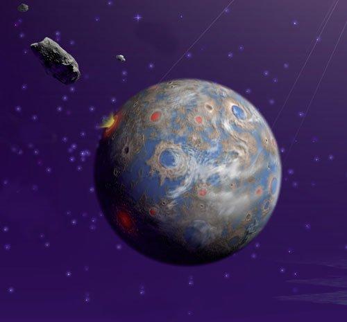 Earthlike_planet-browse Сверхземли не могут быть обитаемыми?