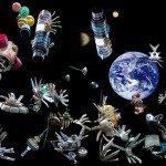 В России запустят программу по очистке орбиты от космического мусора