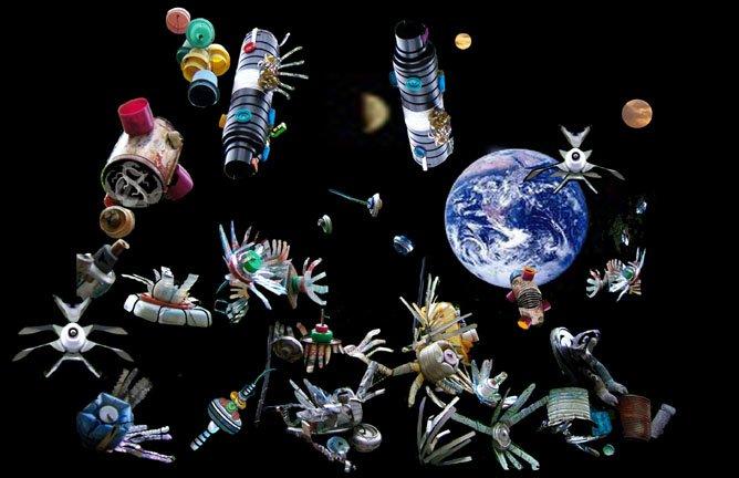 11 В России запустят программу по очистке орбиты от космического мусора