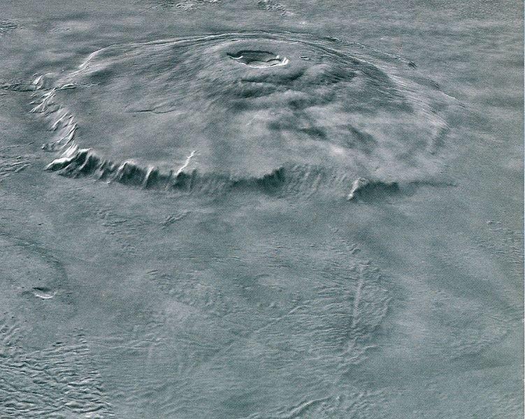 113 Звание крупнейшего вулкана Солнечной системы оспорено