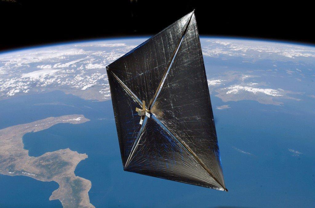 114-1024x677 Американское космическое агентство осуществило первый запуск спутника со спутника