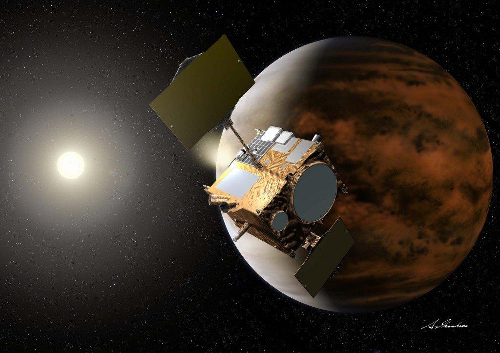 116-1024x723 Японский зонд не смог выйти на орбиту Венеры