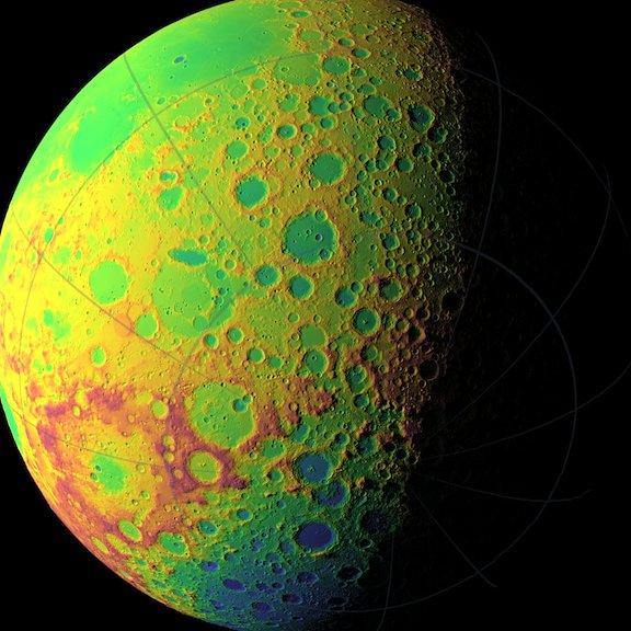 124 Ученые составили подробную карту Луны