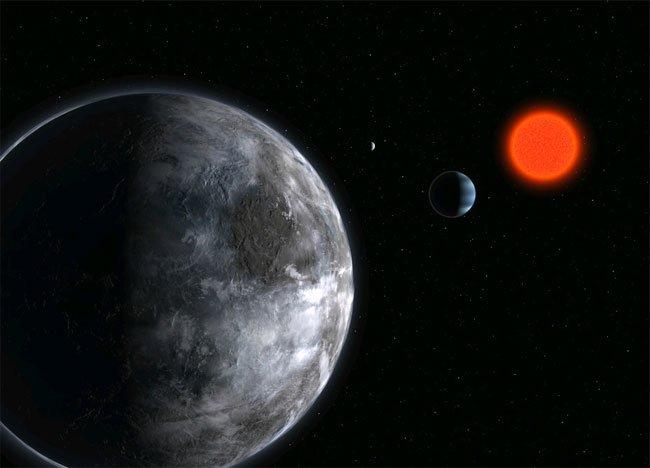 131 Планету Gliese 581d снова отнесли к потенциально обитаемым