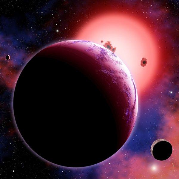16 Астрономы смогли проанализировать атмосферу «суперземли»