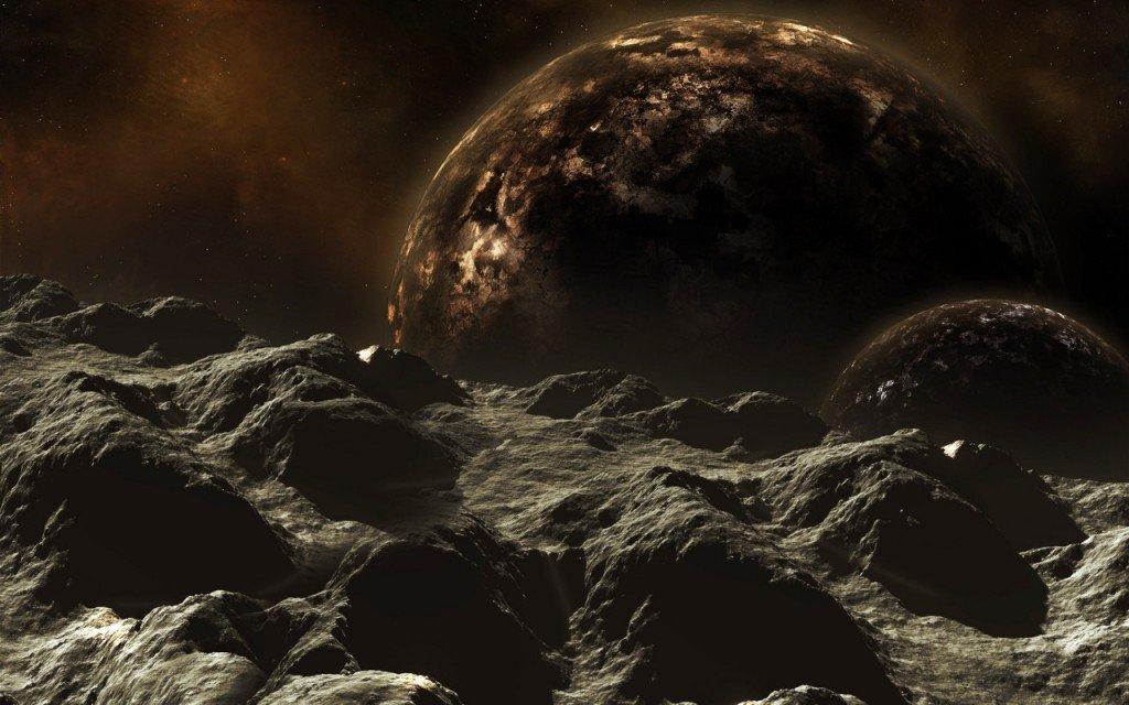 18-1024x640 Темная планета притягивает к Земле астероиды