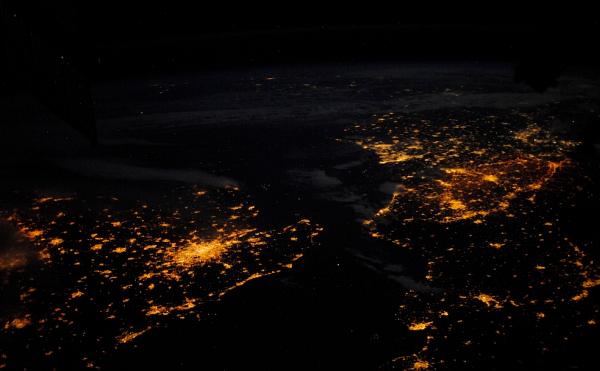 пролив-Ла-Манш Планета Земля под прицелом объектива астронавта-фотохудожника