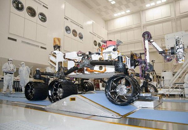 Марсоход-Curiosity Новый марсоход NASA остался без 3D-камеры