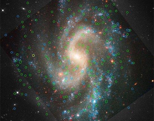 5584 Определено наиболее точное значение постоянной Хаббла